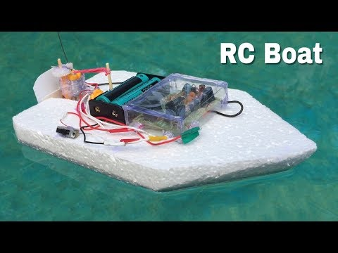 How to Make Electric Boat with Remote Control