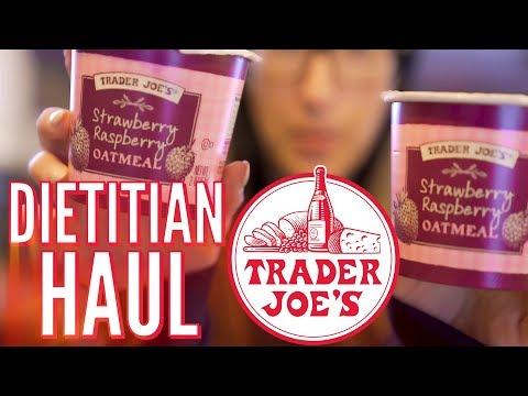Trader Joe's Grocery Haul - Registered Dietitian Meal Prep