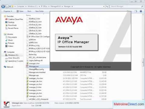 Avaya IP Office - How to work on Multiple IP Office releases on one PC