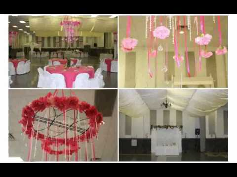 Ceiling Decorations for Weddings