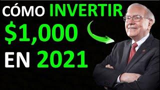 🔥 WARREN BUFFETT : Cómo INVERTIR con POCO DINERO en BOLSA |👉 5 OPORTUNIDADES de Inversión