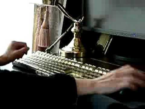steampunk keyboard スチームパンクキーボード