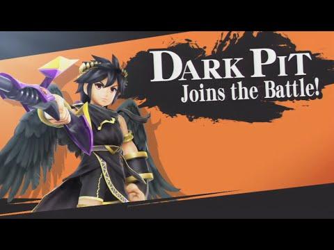 Super Smash Brothers Wii U - Dark Pit Unlock Battle (LV9)