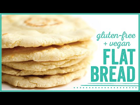 Vegan Gluten-Free Flatbread // oil-free and hclf