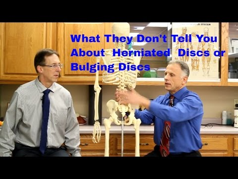 What They Don't Tell You About a Herniated or Bulging Disc.
