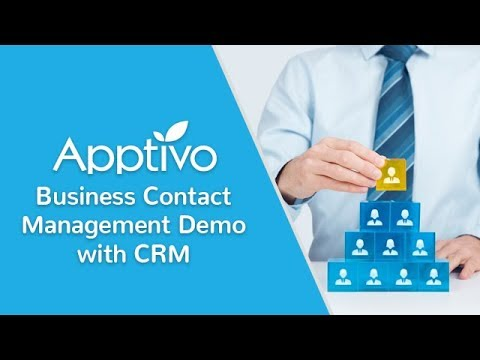Apptivo - Business Contact Management Demo with CRM