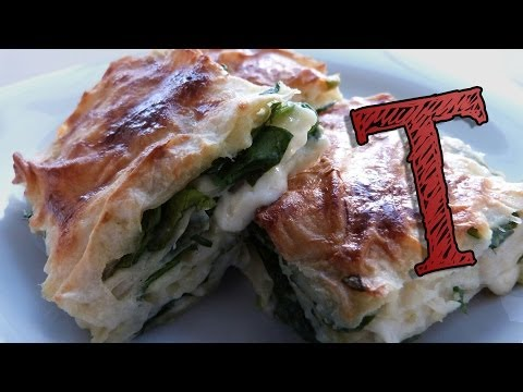 Turkish Borek Recipe | Filo Pastry | with Spinach and Cheese