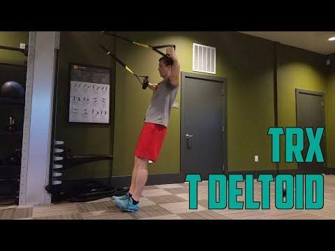 How To: TRX T Deltoid Fly (Back, Shoulders, Core)