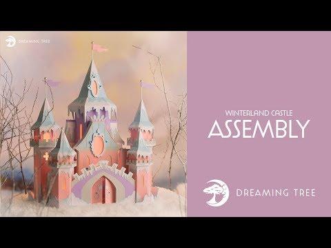 SVG File - Winterland Castle - Assembly Tutorial
