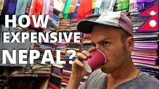 HOW EXPENSIVE is NEPAL? Budget Travel, Kathmandu