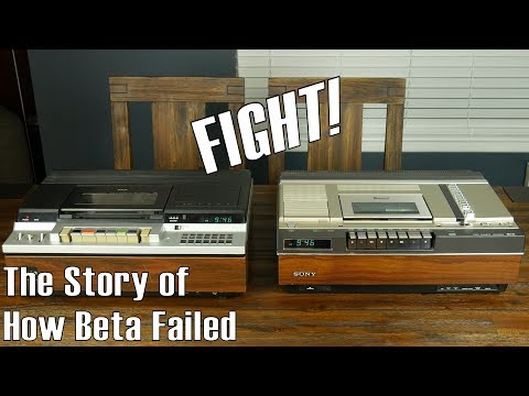 Why Sony's Beta Videotape System Failed--and failed hard (Part 1)