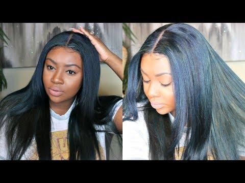 How I Dye My Hair Navy Blue with Adore Dye   OxeyeGirl Hair