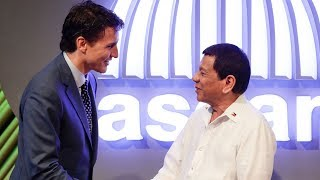 PM Trudeau too soft on Duterte on human rights issues?