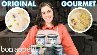 Pastry Chef Attempts to Make Gourmet Ben & Jerry's Ice Cream | Bon Appétit