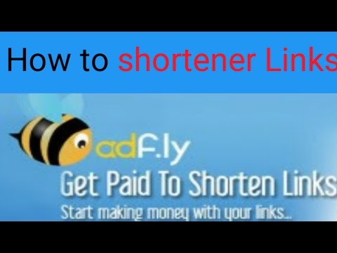 how to shortener Links on your Android Phone?Paid url shortener Adfly App Review -(Hindi)