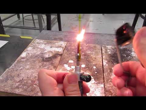lighting oxy acetylene torch pt2