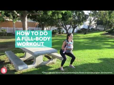 How To Do A Full-Body Postnatal Workout—With Baby!