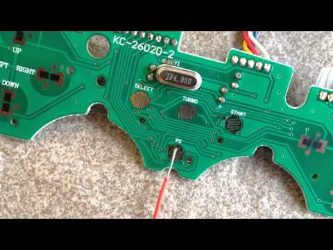 Arcade Stick PCB modding (soldering, wiring)