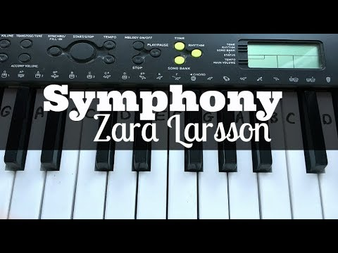 Symphony - Clean Bandit ft Zara Larsson | Easy Keyboard Tutorial With Notes (Right Hand)