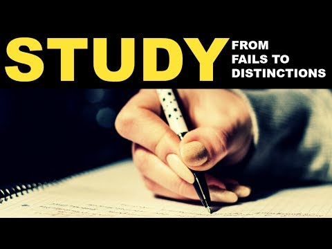 How to study more effectively | From fails to distinctions | Ace your exams!