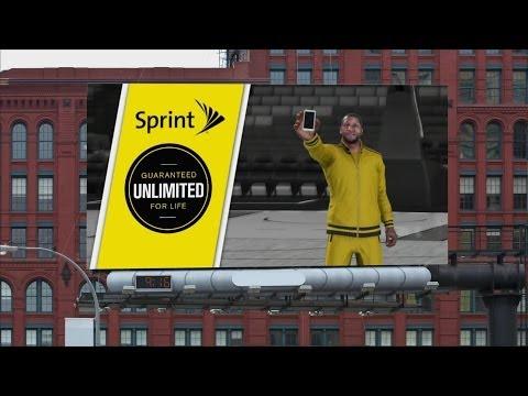 NBA 2K14 PS4 My Career - Sprint Endorsement