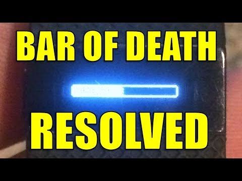 Fitbit Charge HR Stuck In Firmware Update, Stuck Update, Half Bar, Bar of Death, Solution!