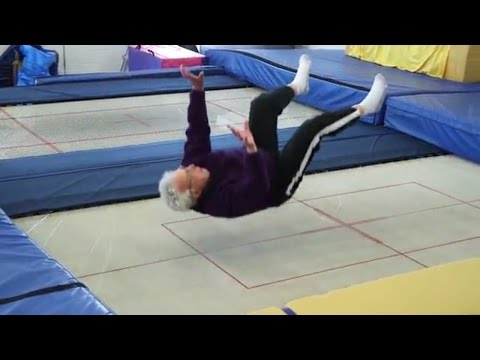 A 95-year-old man shares his tricks to safe falling