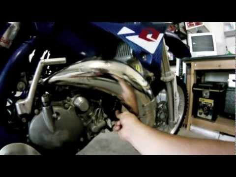 Yz 125 Blown Head Gasket PROBLEM! - Rebuild Time!