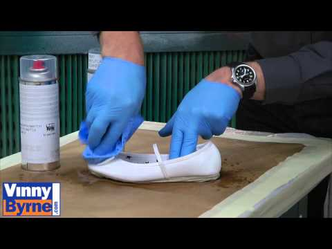 How to Spray a Leather Shoe