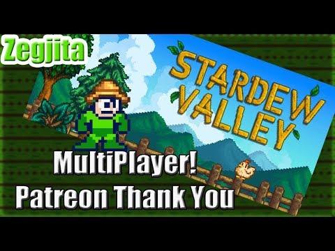 Stardew Valley Multiplayer: Patreon Thank You