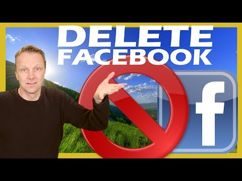 How to  Delete / Quit Facebook permanently 2018