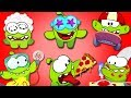 Om Nom Stories VIDEO BLOG Cut The Rope 2018 Funny Cartoons For Children By HooplaKidz TV