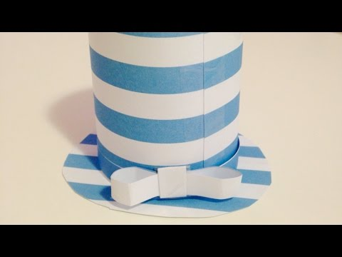 How To Create a Cute Paper Top Hat - DIY Crafts Tutorial - Guidecentral