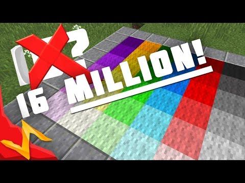 16,000,000 Block Colors in Minecraft
