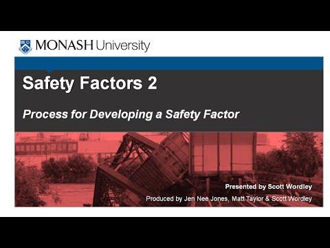 Safety Factors 2