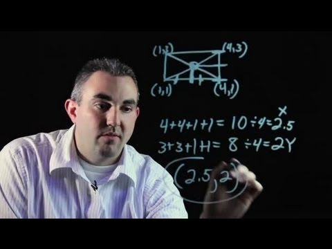 How to Find the Centroid of a Quadrilateral : Algebra, Geometry & Other Math Tips