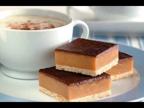 Chocolate Caramel Slice | One Pot Chef