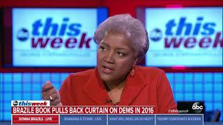 Donna Brazile tells critics of her book to