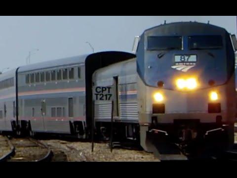 Amtrak 22 Texas Eagle (Dallas - Chicago) 8-17-2015 Onboard Footage