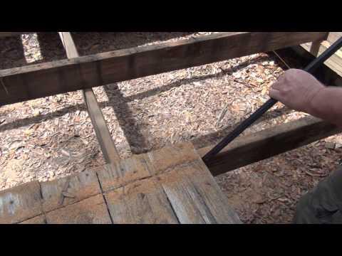 Rebuilding A Deck Part 1