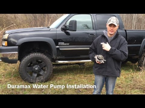 Full Water Pump Install on a Duramax