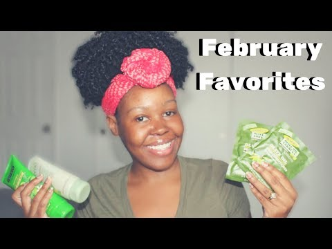 My February 2018 Favorites | Natural Hair Products, Skin Care & E Books