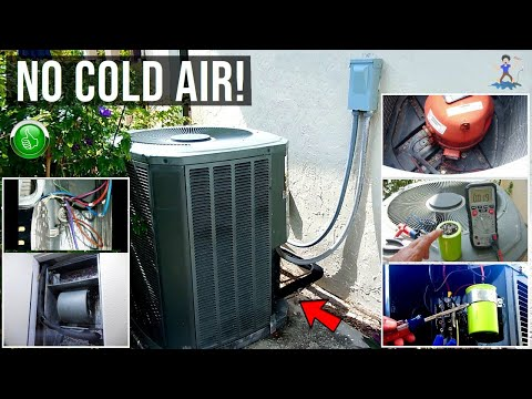 Troubleshooting & Repairing Central Air Units (AC) ~ Step By Step