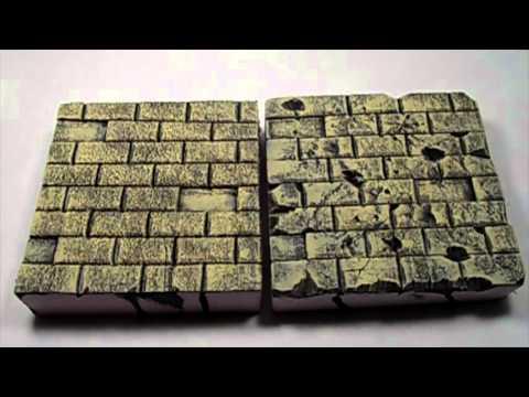 Enhance Your Diorama: Painting Tutorial Sandstone Bricks