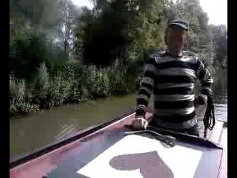Canal Barge with Will