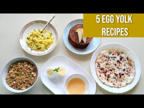 5 Egg Yolk Recipes for Babies