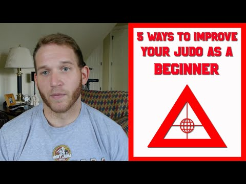 5 Ways to Improve Your Judo as a Beginner