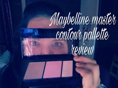 Maybelline master contour pallete | all about skin and makeup