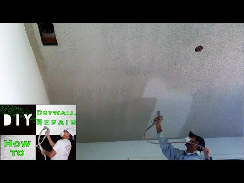 How to Remove Popcorn Ceiling Texture Fast and Easy!
