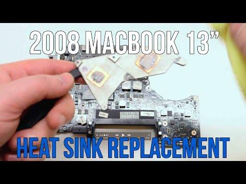 2008 Unibody CPU Heat Sink Replacement Save Apple Dollars #18